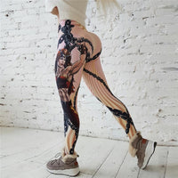 Hot New! Wonder Woman SuperHero Printed Leggings