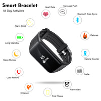 Smart Band Activity Tracker with Real-time Heart Rate Monitor