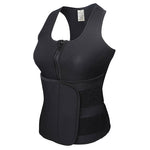 Black 2 in 1 Body Shaper Vest & Waist trainer