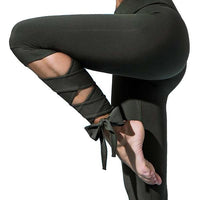 Black Bandage Yoga Pants