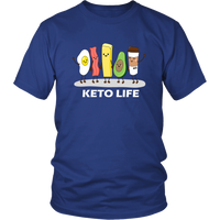 Egg, Bacon, Butter, Avocado and Keto Coffee Shirt