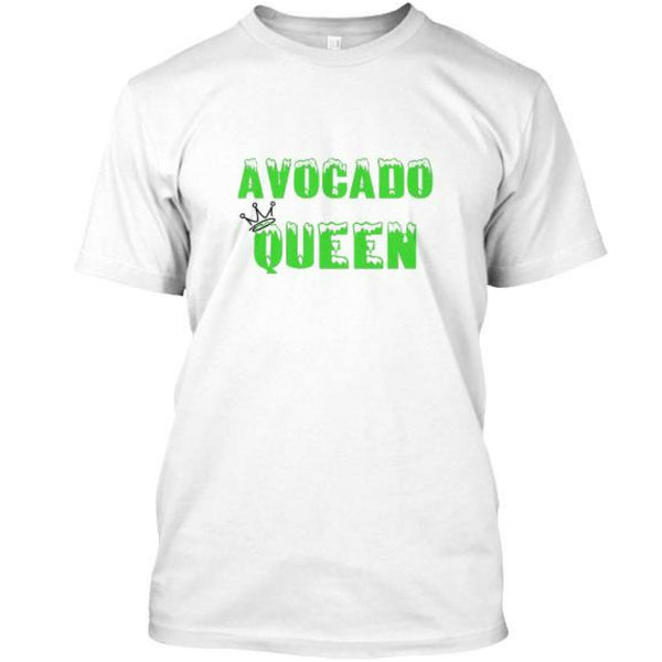 White Avocado Queen T-shirt for our Keto Mama's