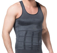 Gray Men's Keto Muscle Sculpting Shirt