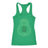 Kelly Keto Avocado Racerback Tank