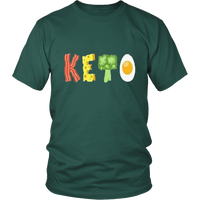 Dark Green Keto T-shirt