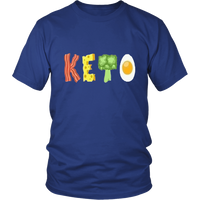Royal Blue Keto T-shirt