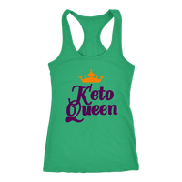 "Kelly ""Keto Queen"" Raceback Tank"