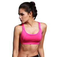 Rose Thick Strap Fitness and Sports Bra