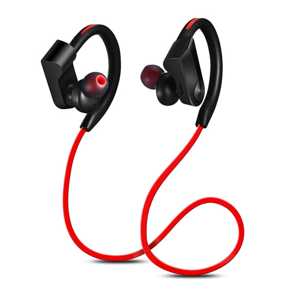Red colored Wireless Waterproof Sports Earphones