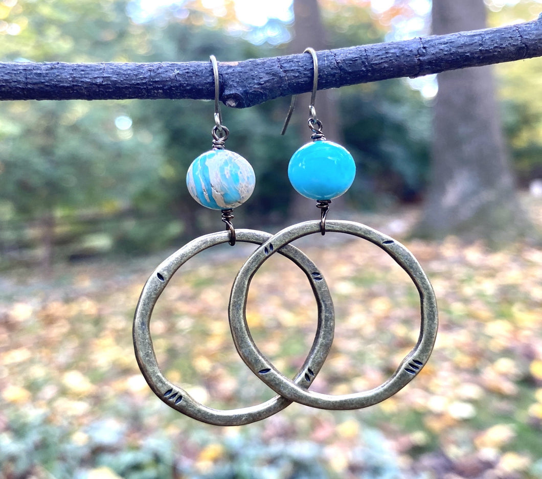 Sea Sediment Jasper Hoops