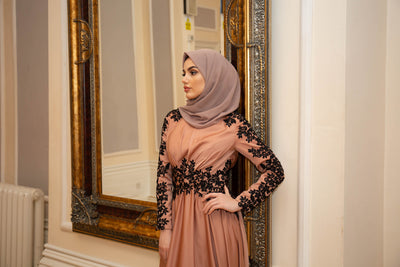 Luxury Aria Lace Abaya