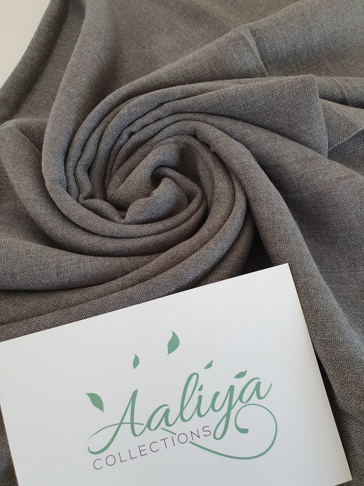 Cotton Hijab - Grey