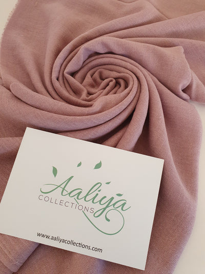 Cotton Hijab - Dusty Pink