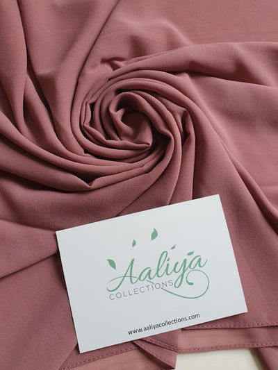 Aaliya Collections Chiffon Hijab - Mauve