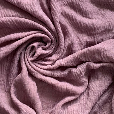 Cotton Crinkle Hijab - Orchid