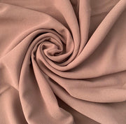Aaliya Collections mink plain chiffon hijab headscarf