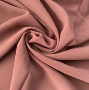 Aaliya Collections chocolate colour plain chiffon hijab headscarf