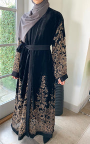 Husna Noir Abaya - Ready To Dispatch