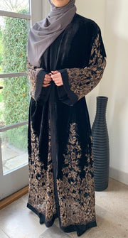 Husna Noir Abaya - Made To Order