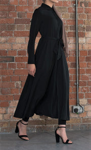 Lilah Midaxi Dress (Black) - Ready To Dispatch