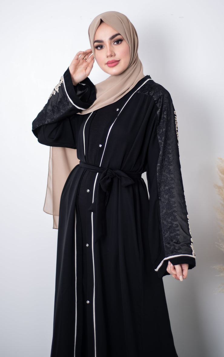 Reem Embroidered Abaya