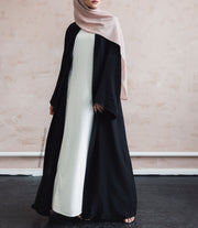 Black Open Abaya - Ready To Dispatch
