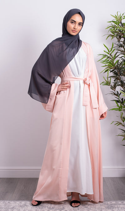 Aaliya Collections Blush Pocket Abaya