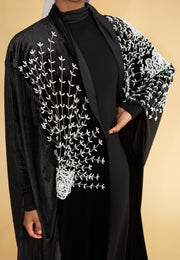 Pearl Embellished Cape - Ready To Dispatch