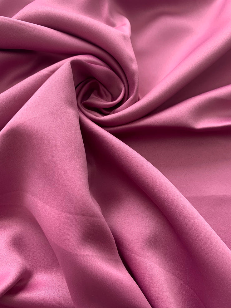 Aaliya Collections Magenta Pink Faux Silk hijab headscarf