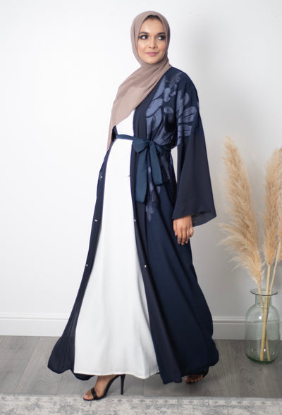 Aaliya Collections Navy Belle Abaya