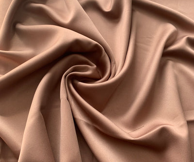 Aaliya Collections Brown Faux Silk hijab headscarf