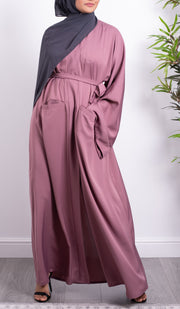 Aaliya Collections Rose Pocket Abaya