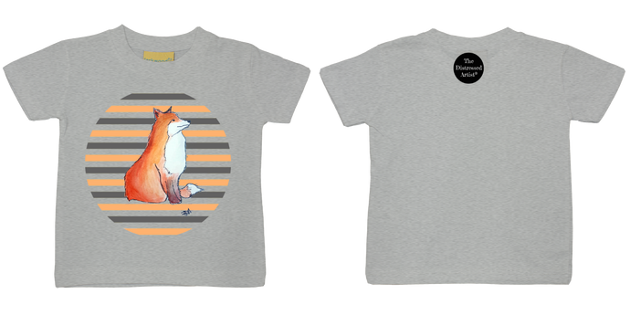 Mr Fox Toddler T Shirt