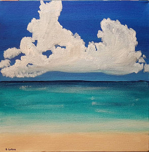 Maldives Hand Painted Original Canvas