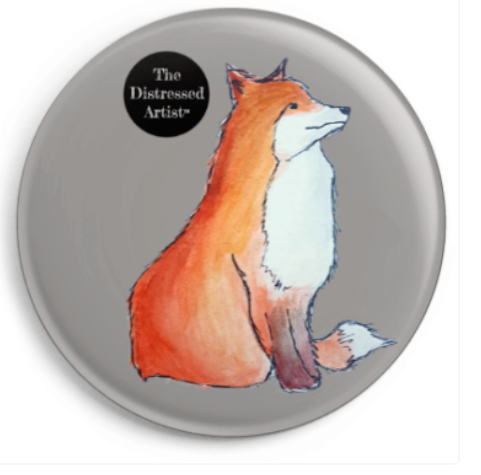 Mr Fox Badge