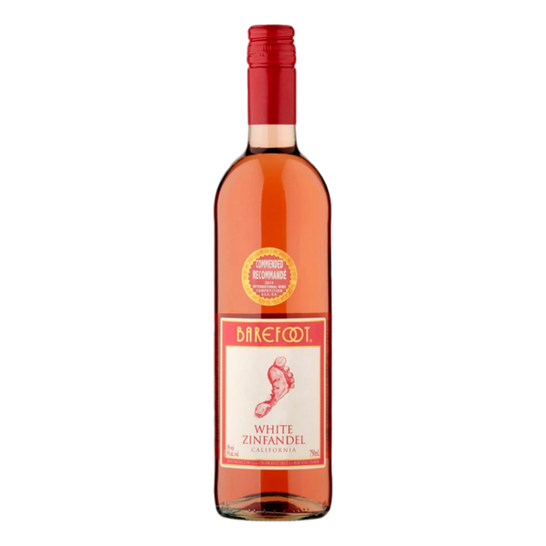Barefoot White Zinfandel 75cl - Stamford My Shop is Local