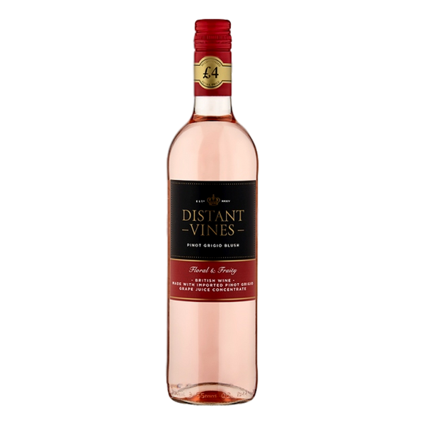 Distant Vines Pinot Grigio Blush 75cl - Stamford My Shop is Local