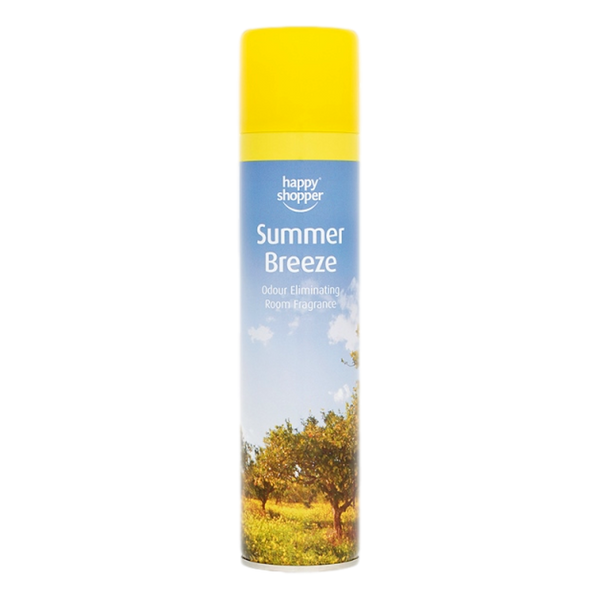 Happy Shopper Summer Breeze Odour Eliminating Room Fragrance 300ml - Stamford My Shop is Local