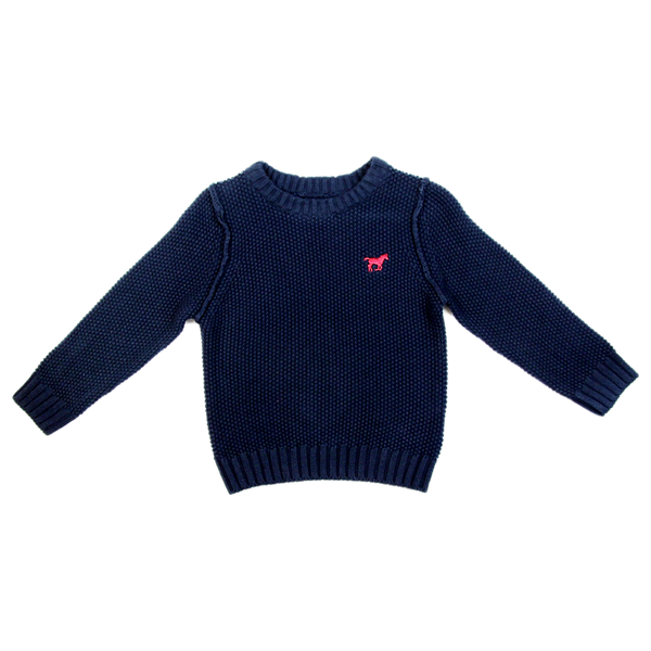 Minoti Jumper - Navy or Green - Stamford My Shop is Local