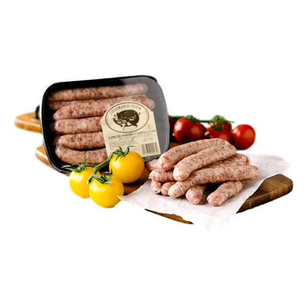 Lincolnshire Chipolata Sausages - Stamford My Shop is Local