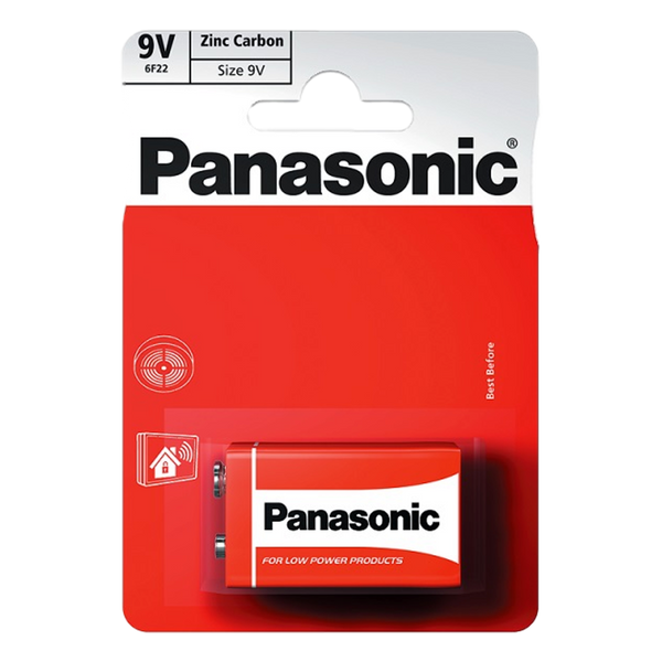 Panasonic 9V Zinc Carbon Battery - Stamford My Shop is Local