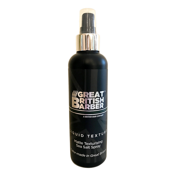 Great British Barber  - Liquid Texture Matte Texturizing Sea Salt Spray - Stamford My Shop is Local