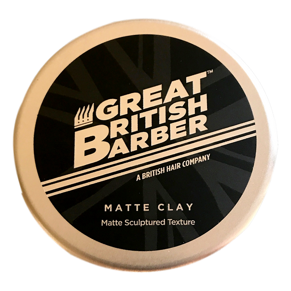 Great British Barber  - Matte Clay Matte Sculptured Texture - Stamford My Shop is Local