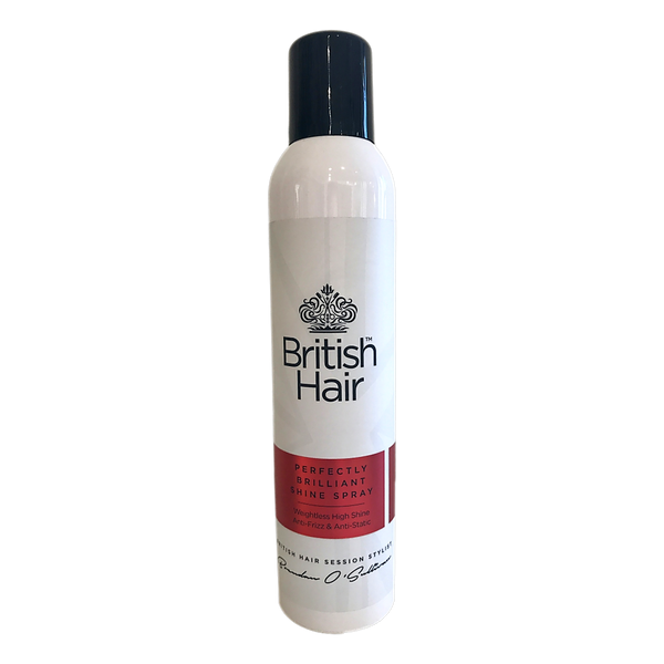 British Hair - Perfectly Brilliant Shine Spray - Stamford My Shop is Local