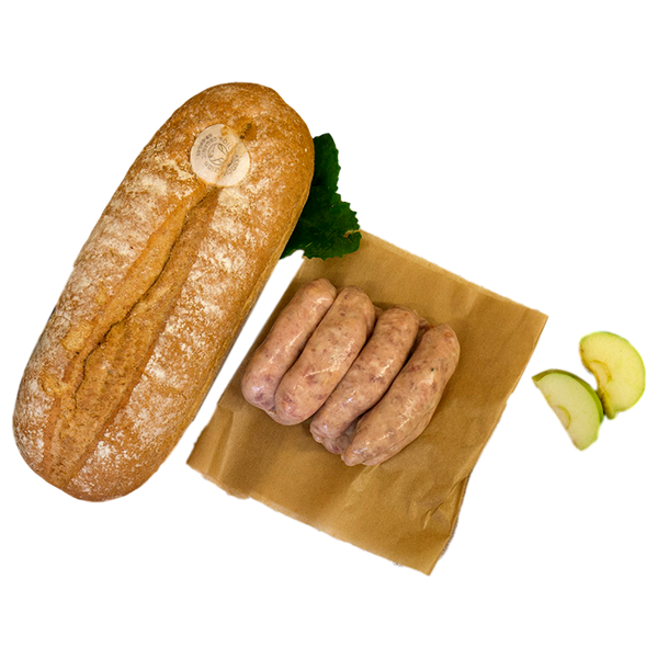 Pork, Cider & Apple Sausage - Stamford My Shop is Local