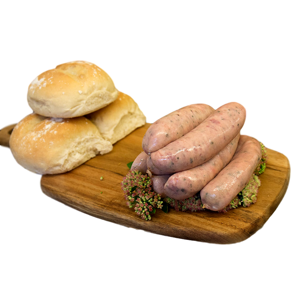 Pork & Crack Black Pepper Sausage - Stamford My Shop is Local