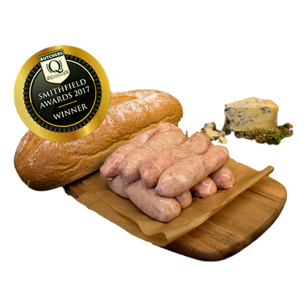 Pork & Stilton Sausage - Stamford My Shop is Local