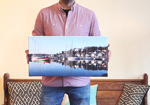 Panoramic Block Canvas