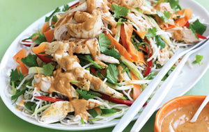 Recipe: Healthier Chicken Satay Noodles 🍜