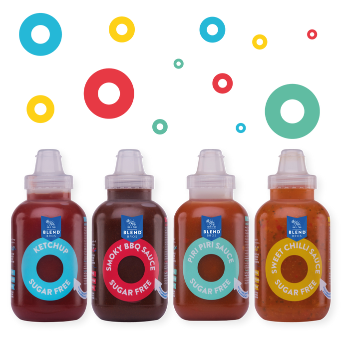Blend Bros | Sugar Free Sauce | 4x 250ml Mixed Pack (Free UK Delivery) *PRE-ORDER*